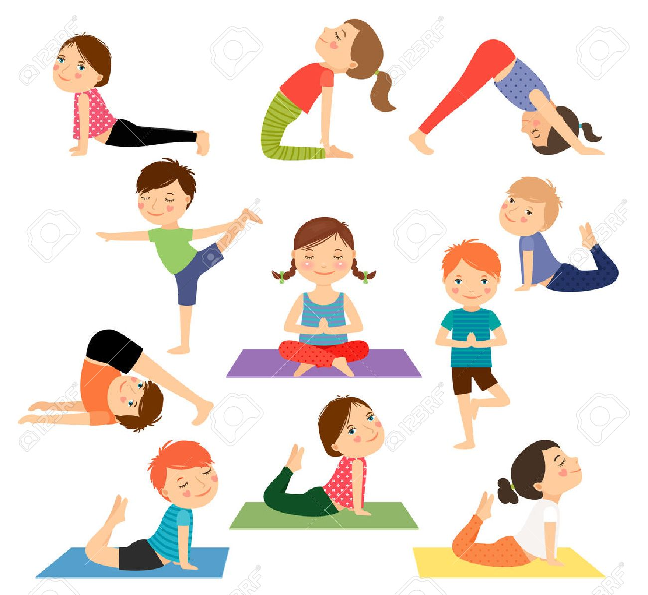 Children S Yoga For Ages 6 10